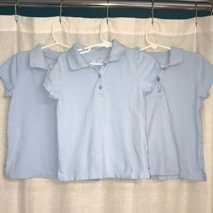 Lot of 3 Girls Uniform Polos